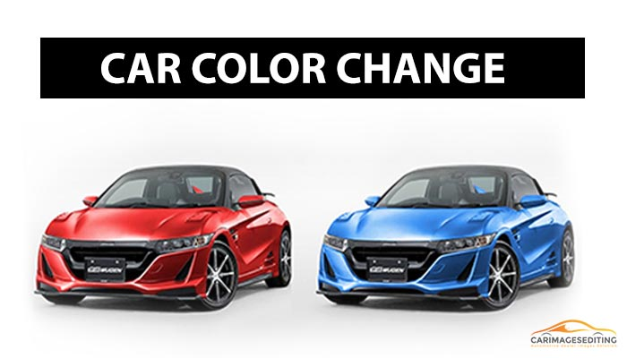 Car Color Change In Photoshop