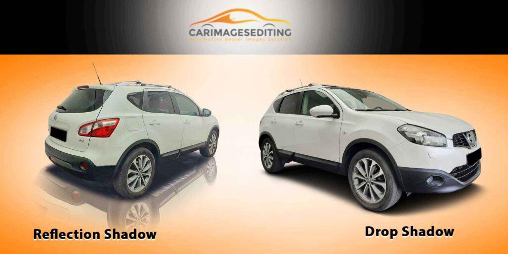 Car-Reflection-shadow-and-Drop-shadow