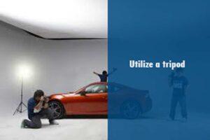 How To Setup Car studio lighting and photograph your Car