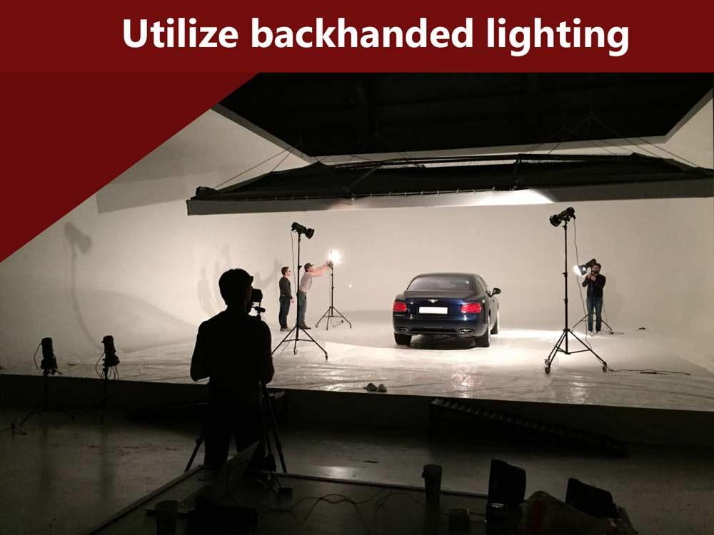 Utilize-backhanded-lighting
