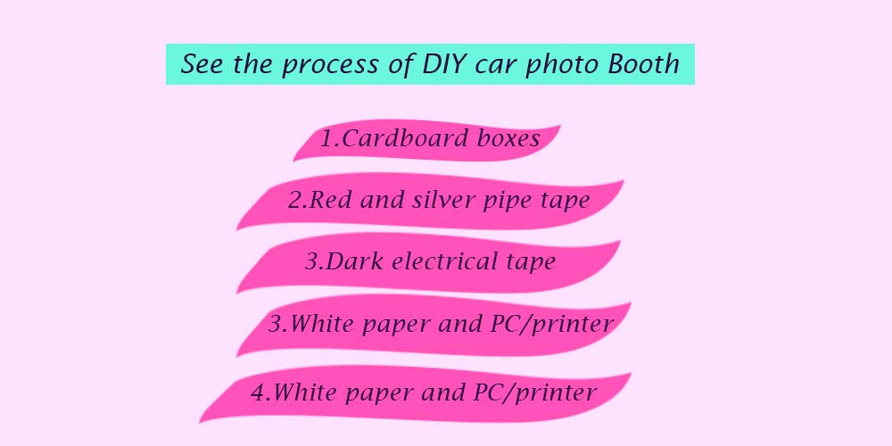 see-the-process-of--DIY-car-photo-booth- How to make a car photo booth