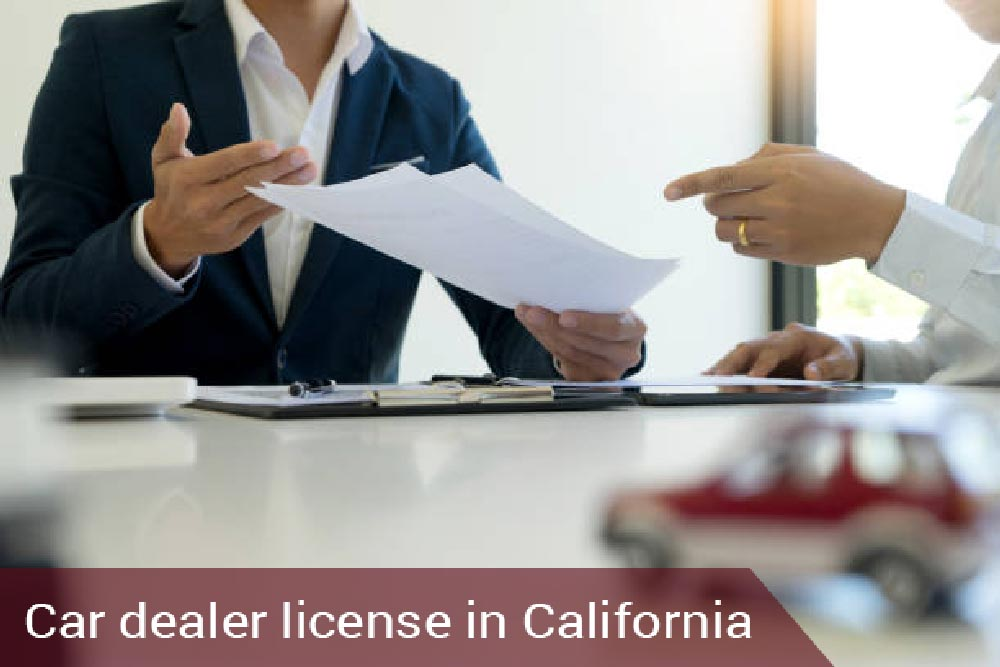 car auction license system and process