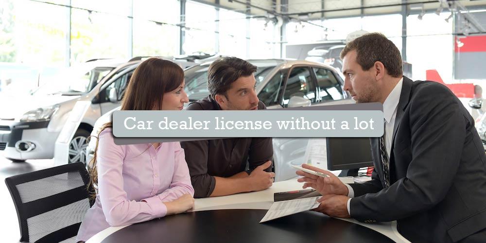 do i need a car lot