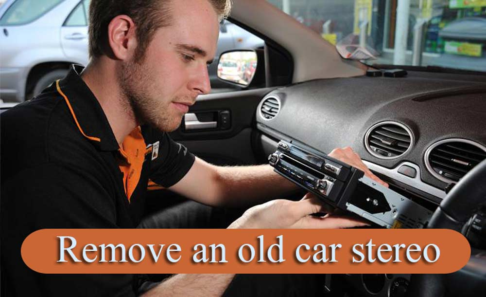 How-to-remove-an-old-car-stereo
