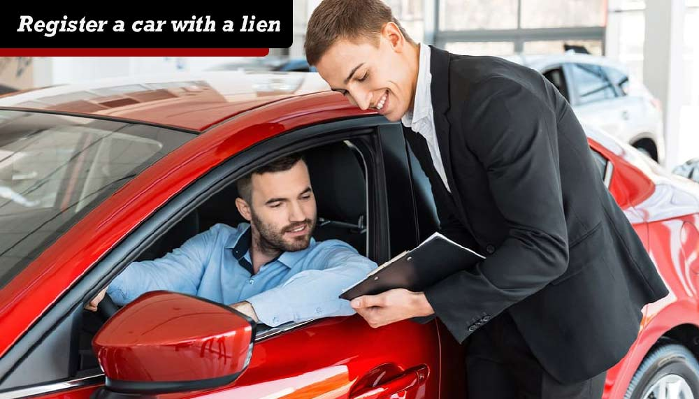 how to put a lien on car title